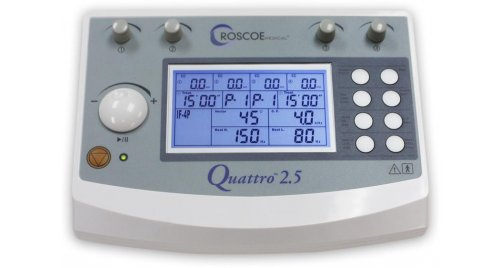 Electroestimulador Profesional Quattro 2.5 Tens Ems If Russian